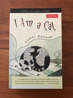 I am a Cat by Soseki Natsume
