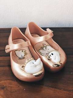 Mini Melissa Shoes - Beauty & The Beast Edition