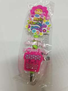 Smiggle stackable pencil with eraser for girls rm15 NEW