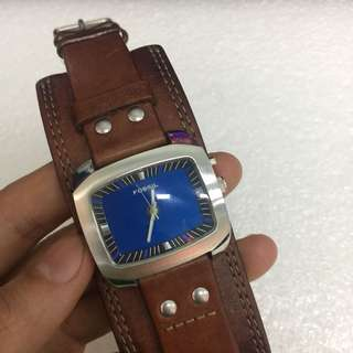 Fossil Watch Leather Bigtic
