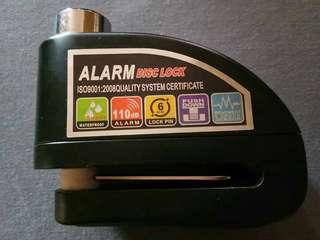 Alarm Disc Lock