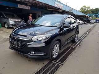 Honda HRV E at 2016 Hitam met 16rb