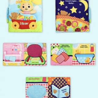 BN INSTOCK: Baby's Busy Book