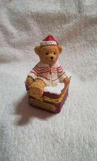Vintage Harrods Ceramic / Resin / Stone Ware Chest Box