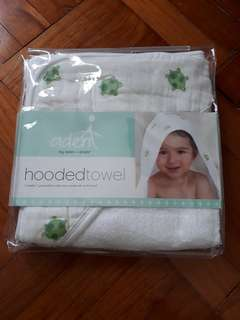 Aden + Anais baby hooded towel