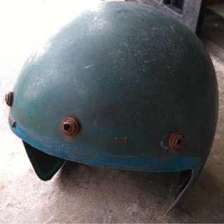 (Sold) Vintage Bell Fiberglass Shell Helmet