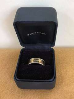 Authentic Burberry Size 12 Ring