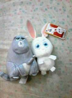 Secret life of pets minis Chloe the cat and snowball the rabbit