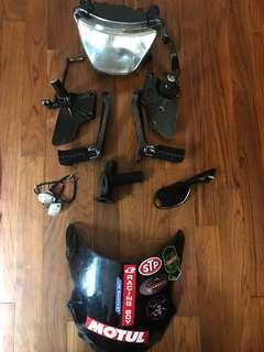 Kawasaki KRR150 items