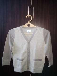 Polo Shirt and Cardigan