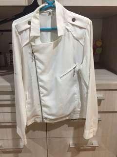 Cache cache white jacket