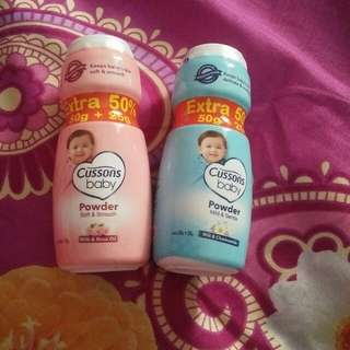 Bedak cussons baby ( take all )