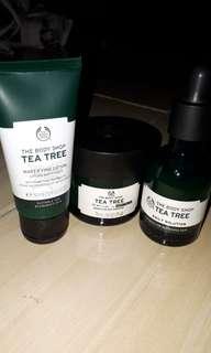Turun Harga !!! The Body Shop - Tea Tree Collection
