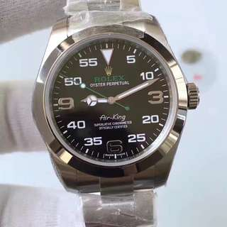 Rolex Air-King Black Dial  (1:1)