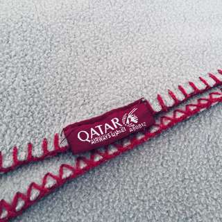 Qatar Airlines Blanket