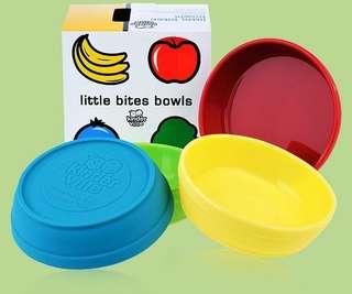 Kinderville Little Bites Silicone Bowls