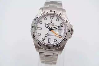 Rolex Explorer II White Dial Orange Hand (1:1)