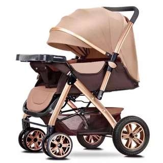 Baby 2 way facing stroller
