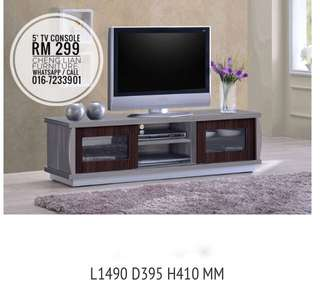 5 ft Tv Console 299
