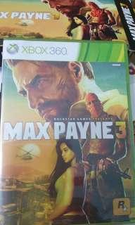 MAX PAYNE Xbox 360 Games(Brand New Sealed )