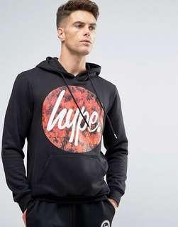 HYPE fire logo hoodie | Size M 🔥