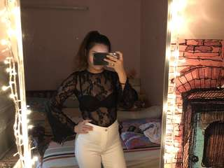 Miss Selfridge Lace Bodysuit & Topshop Petite Joni