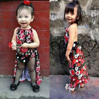 Romper with longback