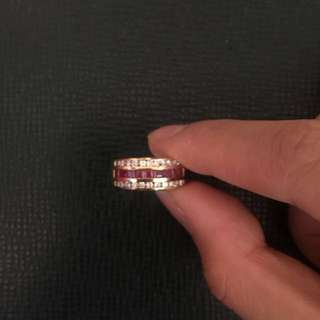 Ruby Ring with 18K Gold