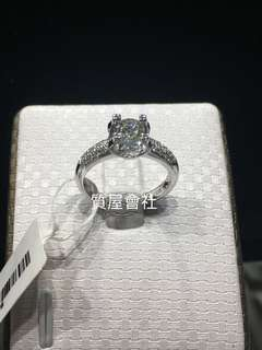 #Diamond Ring 主石0.504ct 750 有証書 圈15