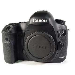 Canon EOS 5D3 全幅機 盒裝 背帶 說明書 光碟 充電器 電池*1 公 (CB044)