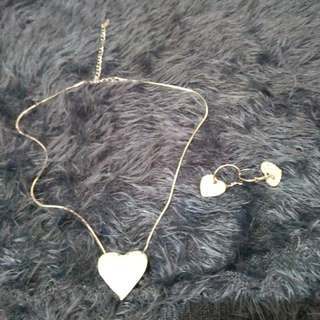 Adore set earing&necklace
