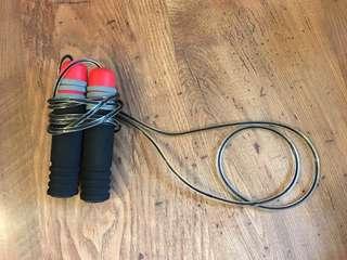 NEW Foam handled speed jump rope
