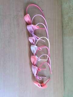 Pastel Colors Ribbon Headband