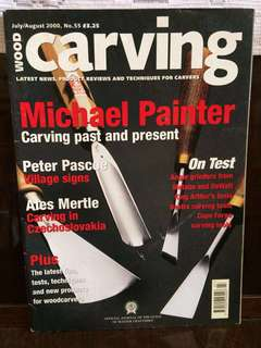 Wood Carving 2000 July/August no. 55