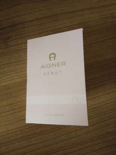 Vial Parfum Aigner Debut Woman EDP 1,5ml