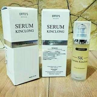 Ertos serum kinclong