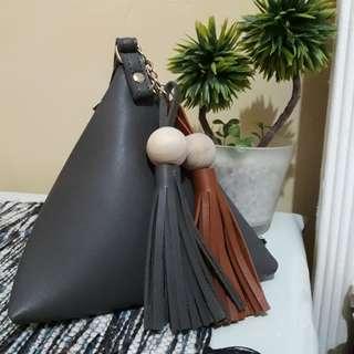 Small Handbag with Tassel