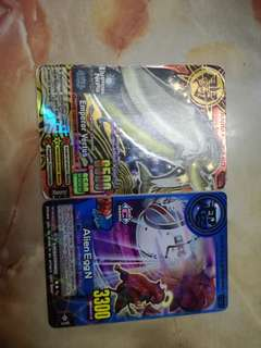 Animal Kaiser Card,Emperor Vertus + free Alien Egg N card
