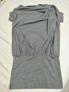 💋(全新)KEZZA灰色長版上衣