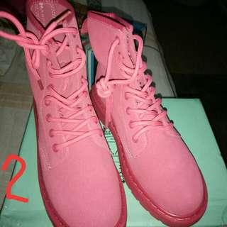 Jiaslawhua pink shoes