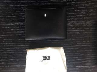 NEW & Authentic Montblanc wallet with receipt