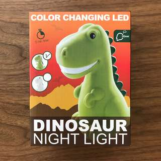 Dinosaur Night Light Color Changing LED