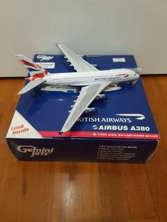British Airways Airplane Model (full diecast)