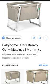 Baby cot from babyhome