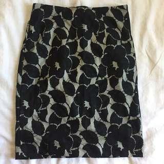 Michael Kors office lace skirt