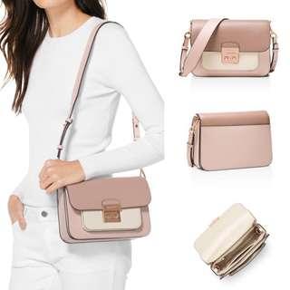 Michael Kors Sloan Editor colour-block leather shoulder bag