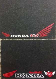 Honda Number Plate