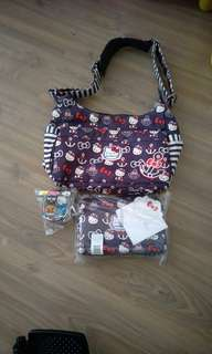 Jujube out to sea hbb used condition with corner wear and bnwt out to sea be set and hello friends paci pod bundle.no split
