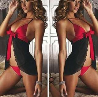 *FREE Postage* Sexy Lingerie Nightwear Set (with g-string)