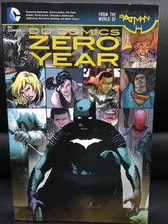 DC comics Zero Year